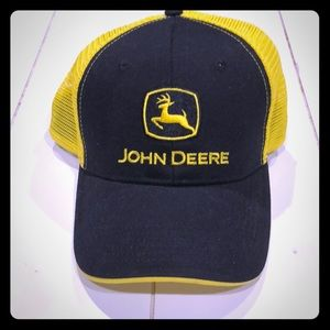 John Deere Baseball Hat Yellow/Black